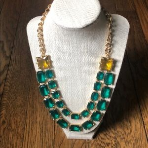 Kate Spade Emerald Necklace with matching ring